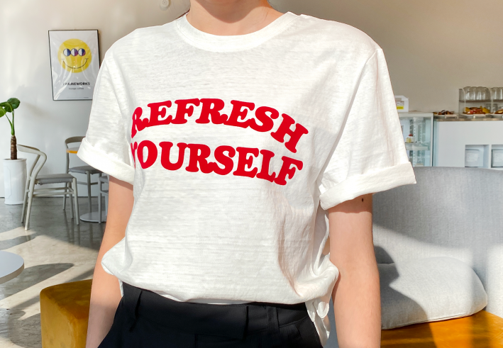 refresh yourself t-shirts